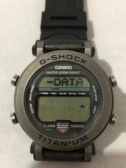 Relógio Casio G-shock Databank Mrg-1 Titânio