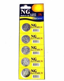 Bateria Moeda Cr2025 3v Lithium Cartela C/ 5pcs