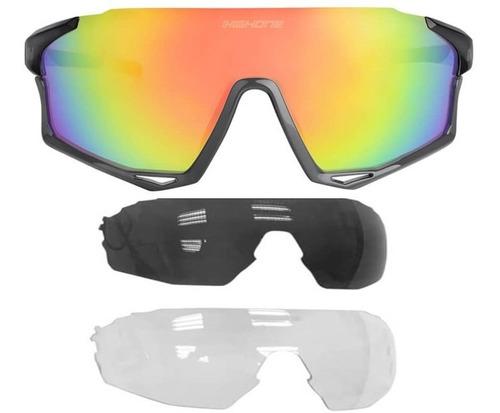 Oculos Ciclismo Bike High One Mark 3 Lentes Proteção Uv