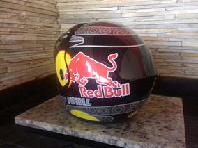 Capacete Aberto Red Bull L 59-60