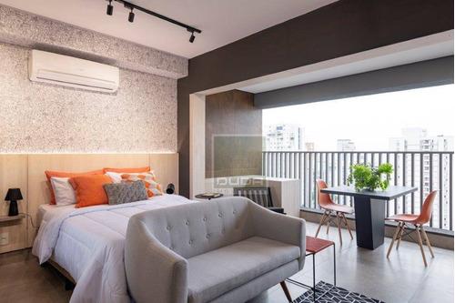 Imagem 1 de 14 de Apartamento Com 1 Dormitório Para Alugar, 33 M² Por R$ 3.500,00/mês - Jardim Paulista - São Paulo/sp - Ap5493