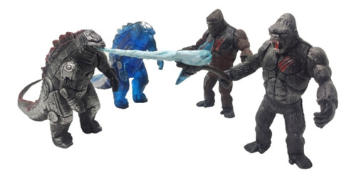 Juguetes Godzilla Vs. Kong King Monarch Figuras Articulables
