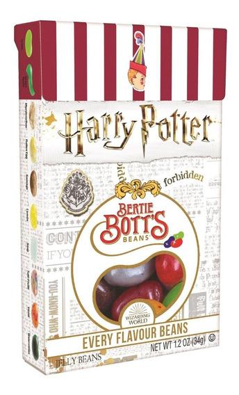 4 Caixas De Feijão Mágico Harry Potter Jelly Belly Feijões