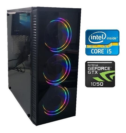 Pc Cpu Gamer Core I5 3.6ghz 8gb Gtx1050ti Ssd 240gb