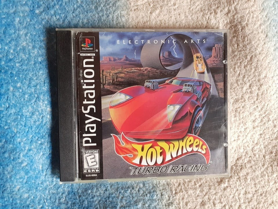 Hot Wheels Turbo Racing Ps1 - Playstation 1 Completo