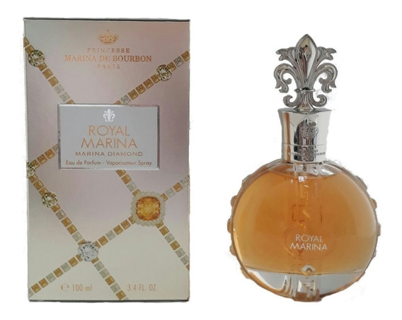 Perfume Marina De Bourbon Royal Diamond 100ml Brinde Amostra