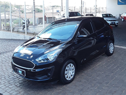 Ford Ka Se 1.0 Preto 2020