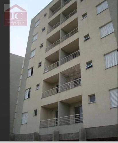 Apartamento Com 2 Dormitórios À Venda, 57 M² Por R$ 220.000,00 - Parque Rincão - Cotia/sp - Ap0341