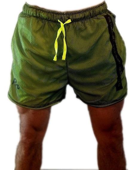Id415 Hartl Pantalon Corto Short Fitness Running Tendencia