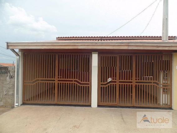 Casa Com 2 Dormitórios Para Alugar, 100 M² - Vila Menuzzo - Sumaré/sp - Ca5284