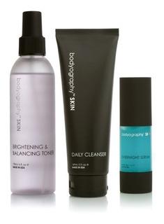 Pack Rutina Noche: Limpiador/serum/toner - Bodyography Skin