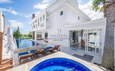 Casa Nova Luxuosa Mobiliada Decorada Rua Da Praia Vista Mar Jurerê Internacional