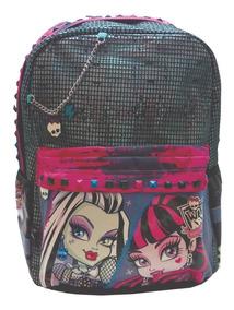 Mochila Espalda Monster High 16 Pulg Orig Dm413mundo Manias