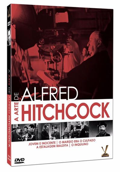 Dvd A Arte De Alfred Hitchcock - Lacrado Original Versatil