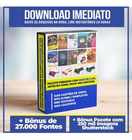 5.000 Artes Editáveis Corel Draw + Bônus Exclusivos
