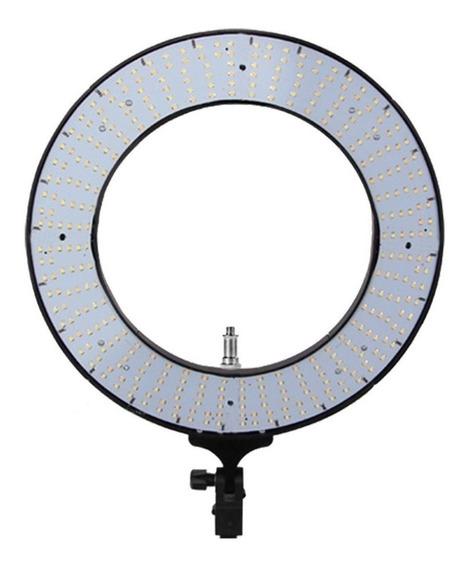 """Luz contínua Easy Ring 18"""" tipo aro cor branca quente e fria 110V/220V"""