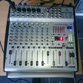 Mesa Amplificador 12 Canais Equalizador Behringer Pmh-1000
