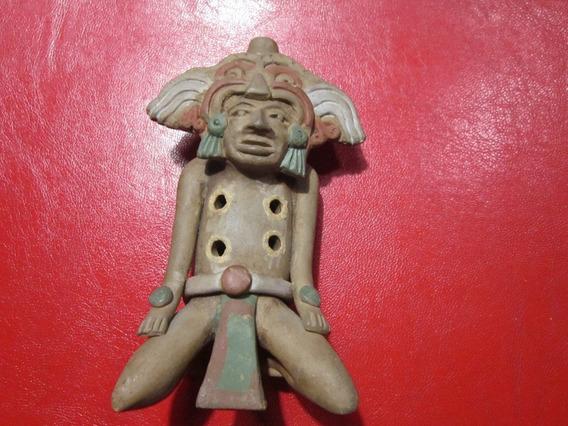 Ocarina Con Imagen Indígena