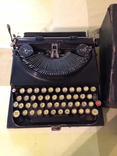 Máquina De Escribir Portátil Remington 1924 Factura Original