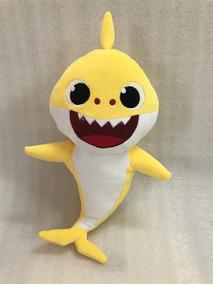 Bebê Tubarão (baby Shark) Pelúcia (vovô, Vovó, Papai E Mamãe