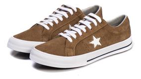 Tênis Converse One Star Premium Suede Uisque Original