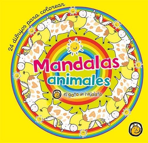 Libro Para Pintar Mandalas Infantiles - Reino Mágico -guadal