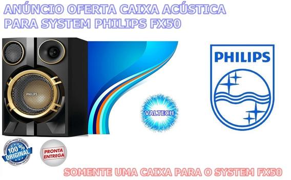 Anúncio Oferta Uma Caixa Acústica Nova E Original Para System Philips Modelo Fx50x/78