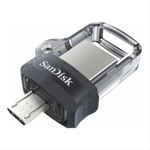 Sandisk Ultra Dual M3.0, Memoria Flash Usb / Otg De 32gb