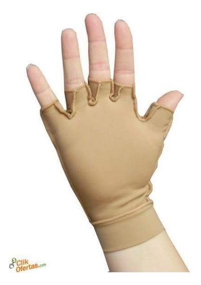 Luva Proteção Solar Curta Raios Uva Tratamento Pele Peeling