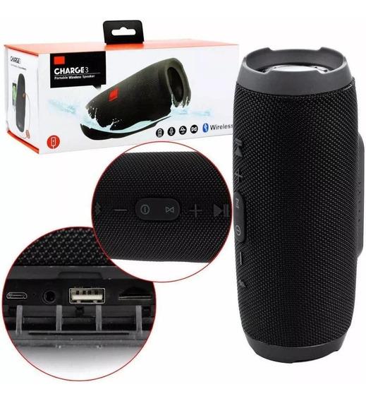 Caixa De Som Bluetooth, Usb, Aux, Sd, 20w Charge3 Promoção!!