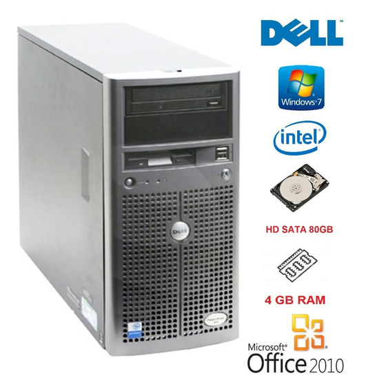 Dell Poweredge 800 Intel 3.2ghz, 4gb Ram, Sata 80gb, Win7