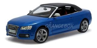 Audi S5 Conversível 2009 Norev High Quality 1:18 Azul 188361