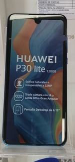 Huawei P30 Lite De 128gb Omologado De Oferta D
