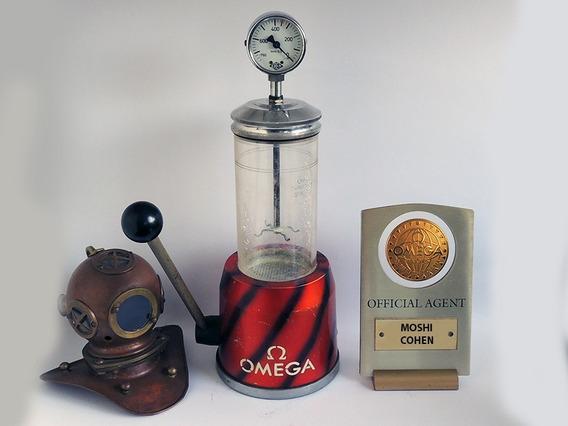 Antigo Omega Waterproof Tester Déc 1960 Relojoeiro Coleção