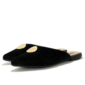 Sapatilha Rasteirinha Mule Louis Vuitton Feminina Original