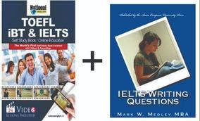 Kit 2 Livros - Toefl Ibt & Ielts + Ielts Writing Questions