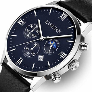 Kashidun Relojes Para Hombres Relojes De Ra De Cuarzo De Luj
