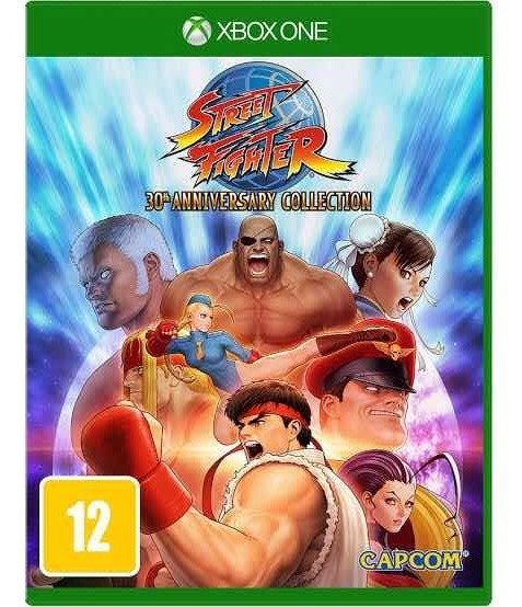 Street Fighter 30th Aniv Collect Xbox One Mídia Física