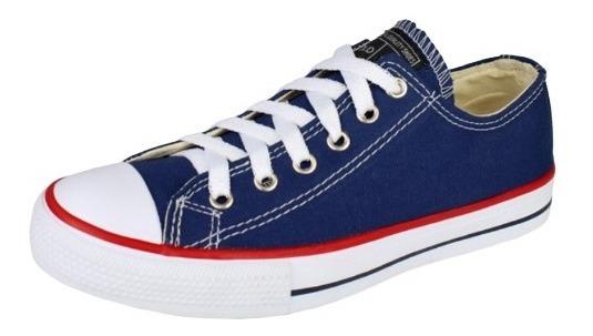 Tênis Old Star Unisex Promoção- Azul Preto