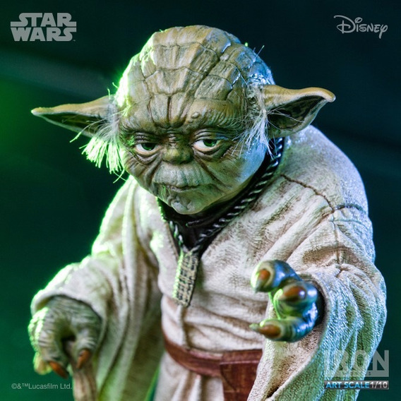 Star Wars : Yoda 1/10 Iron Studios | En Stock