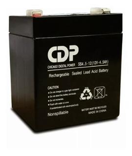Bateria Sellada Recargable Cdp 12v 4.5ah 4.5a Para Reemplazo En No-break Ups Carro Electrico Alarma Cctv Etc Factura