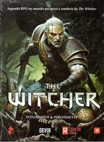 Imagem 1 de 2 de Livro Jogo The Witcher Rpg - Devir - Bonellihq N20