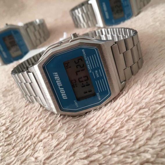 Relógio Mormaii Vintage Prata Mojh02az/3a
