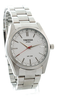 Reloj Tressa Acero 100% Sumergible 50m Garantia Oficial !!