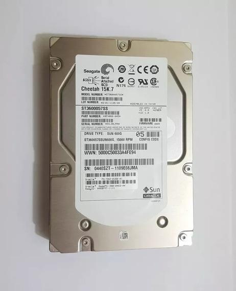 Hd Seagate Sas 600gb 15k Sas 3.5 St3600057ss