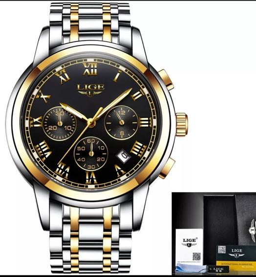 Relógio Feminino Inoxidável Resistente A Água Original