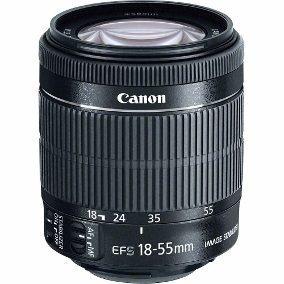 Lente Canon Ef-s 18-55 Mm F 3.5-5.6 Stm Semi Nova