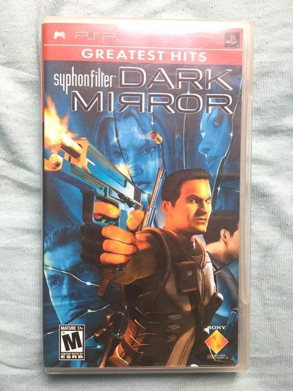 Jogo Syphon Filter Dark Mirror Psp Original