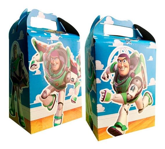 Buzz Lightyear Caja Dulcera 10 Pzs Dulceros Fiesta Toy Story