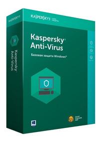 Kaspersky Antivirus 3 Pc 1 Año 2018 2019 + Acronis